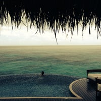 Photo taken at W Retreat & Spa - Maldives by Tyler R. on 10/22/2013