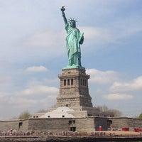 Photo taken at Statue of Liberty by Krevet on 5/7/2013