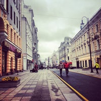 Photo taken at Улица Большая Дмитровка by Krevet on 9/14/2013