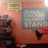 Photo taken at Delia's Chicken Sausage Stand by L. L. on 10/24/2012