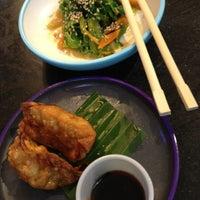 Photo taken at YO! Sushi by Veridiana d. on 1/25/2013