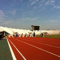 Photo taken at 700th Anniversary Chiangmai Sports Complex by Santi S. on 12/25/2012