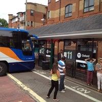 Photo taken at Gloucester Green Bus Station by Katsunori K. on 7/28/2013