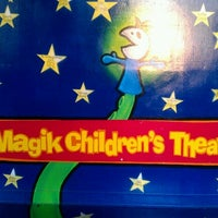 Photo taken at Magik Children's Theater by Jenna Lou V. on 10/19/2012