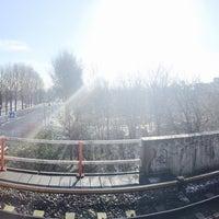 Photo taken at Metrostation Diemen-Zuid by Kristina M. on 1/30/2015