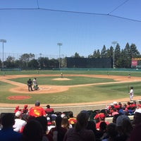 Photo taken at Dedeaux Field by Victor O. on 4/19/2015