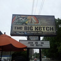 Photo taken at The Big Ketch Saltwater Grill by Adam C. on 4/27/2013
