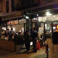 Photo taken at Bier International by HarlemGal -. on 5/3/2013