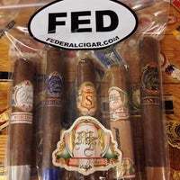 Photo taken at Federal Cigar by Brian S. on 10/28/2014
