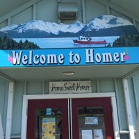 Photo taken at Homer Chamber Of Commerce by Gary M. on 6/1/2015