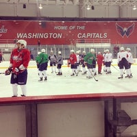 Photo taken at Kettler Capitals Iceplex by Timothy on 5/11/2013