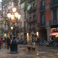 Photo taken at Passeig del Born by TravelThirst /. on 11/18/2012