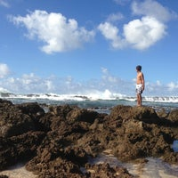 Photo taken at Pupukea Beach Park by Lois G. on 2/10/2013