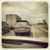 Photo taken at Jalan Tol Jakarta - Cikampek by Satriyo P. on 1/2/2013