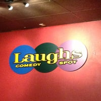 Photo taken at Laughs Comedy Spot by Kim G. on 3/23/2013