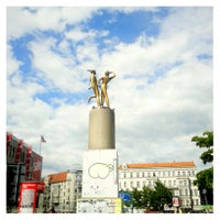 Photo taken at Hermannplatz by Eva on 6/23/2013