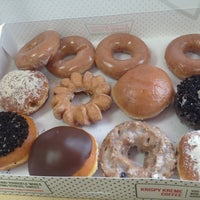 Photo taken at Krispy Kreme Doughnuts by Da Jung C. on 3/31/2013