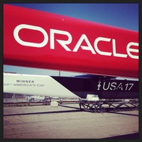Photo taken at Oracle Team USA -Pier 80 by Joshua S. on 9/10/2013