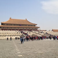 Photo taken at Forbidden City (Palace Museum) by Jih Ying T. on 4/13/2013