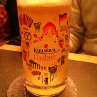 Photo taken at Taverne Karlsbrau by Geff on 11/9/2014