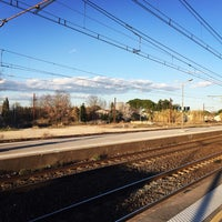 Photo taken at Gare SNCF de Lunel by bylb0 on 2/19/2016