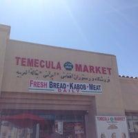 Photo taken at Temecula Halal market by Ram T. on 4/15/2014