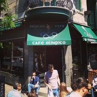 Photo taken at Café Olimpico by Alex T. on 5/27/2013