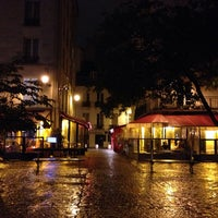 Photo taken at Place du Marché Sainte-Catherine by pierre a. on 11/7/2013