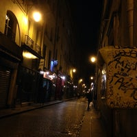 Photo taken at Rue Saint-Sauveur by pierre a. on 7/8/2014
