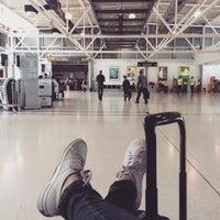 Photo taken at Dubrovnik Airport (DBV) by kimmi k. on 5/4/2015