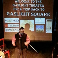 Photo taken at The Gaslight Theater by Geoffrey N. on 4/12/2013