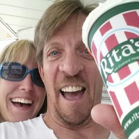 Photo taken at Rita's Italian Ice by Geoffrey N. on 7/28/2014