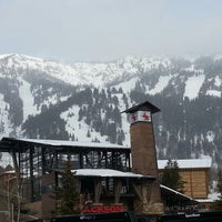 Photo taken at Jackson Hole Mountain Resort by Roland L. on 2/4/2013