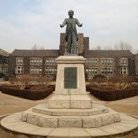 Photo taken at Yonsei University by Kyungdahm Y. on 1/30/2013