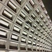 Photo taken at Pentagon Metro Station by Elizabeth T. on 4/20/2013