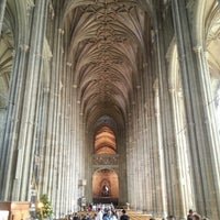 Photo taken at Canterbury Cathedral by Patrick C. on 7/27/2013