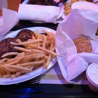 Photo taken at Mickey's Gyros & Ribs by Merilyn W. on 2/12/2014