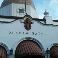 Photo taken at Quapaw Baths & Spa by Stuart C. on 1/5/2016