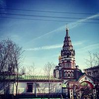 Photo taken at Храм Святителя Николая в Хамовниках by Ilona I. on 4/10/2013