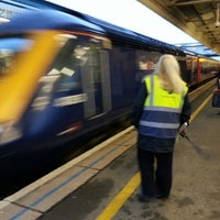 Photo taken at Exeter St Davids Railway Station (EXD) by Stephen A. on 12/21/2012
