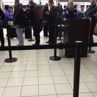Photo taken at TSA Terminal E Security by Kevin G. on 1/27/2014