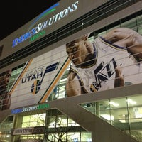 Photo taken at Vivint Smart Home Arena by Curtis O. on 11/18/2012