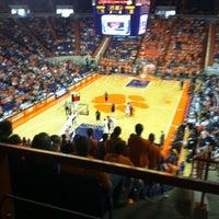 Photo taken at Littlejohn Coliseum by Chandler C. on 1/12/2013