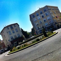 Photo taken at Place Ronde - Montchat by Baptiste on 5/17/2014