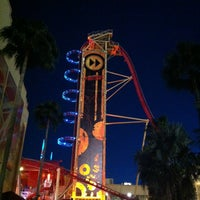 Photo taken at Hollywood Rip Ride Rockit by Amanda F. on 3/8/2013