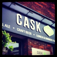 Photo taken at CASK Pub And Kitchen by Mark b. on 4/5/2012