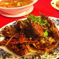 Photo taken at Senibong Village Seafood by Roy on 5/28/2012