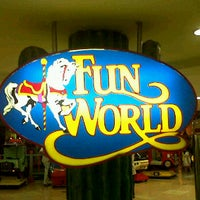 Photo taken at Fun World MM 1 - 3rd Floor by Yeni A. on 2/12/2012