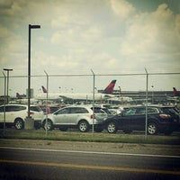 Photo taken at MSP Airport Cell Phone Lot by Aaron E. on 7/8/2012
