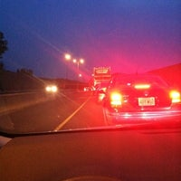 Photo taken at I-84 -- Hartford by Lily S. on 8/10/2012